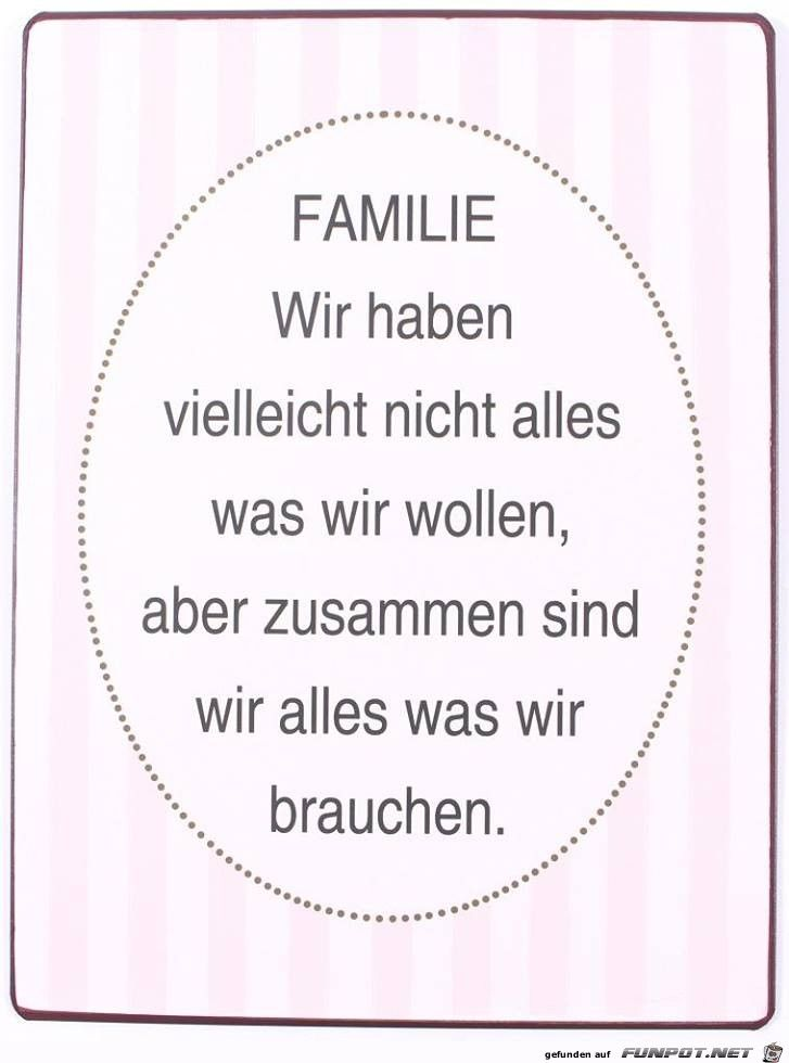 Gedicht über glückliche familie. Gedichte und Sprüche für die