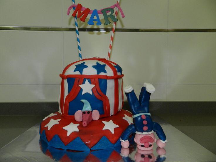 tarta del circo,mesasdechuchescastellon