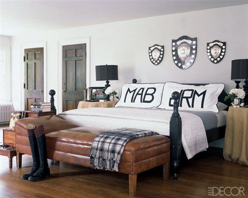 Monogram in the Home!: Decor, Ideas, Interior, Style, Bedrooms, Master Bedroom, Badgley Mischka, Monograms