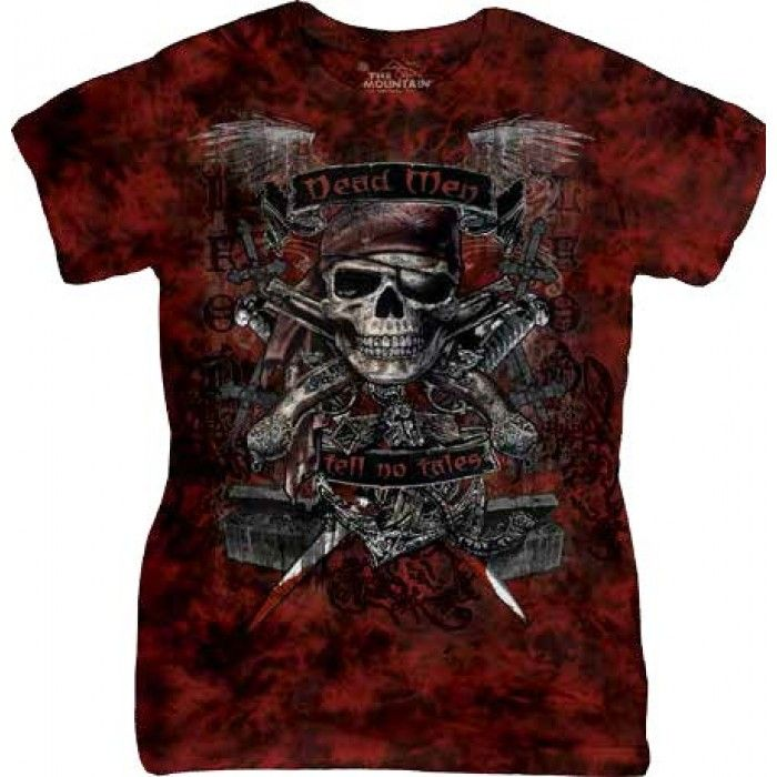Tricouri The Mountain – Tricou Dead Men Dama