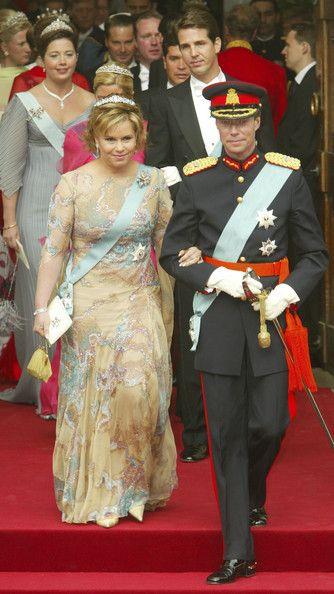 Le Grand Duc Henri et la Grand Duchesse Maria Teresa du Luxembourg