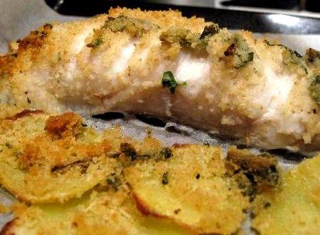 Nulla da dire, la coda di rospo (soprattutto quella al forno) è uno dei miei secondi di pesce preferiti, una gratinatura sciuè sciuè, mezz...