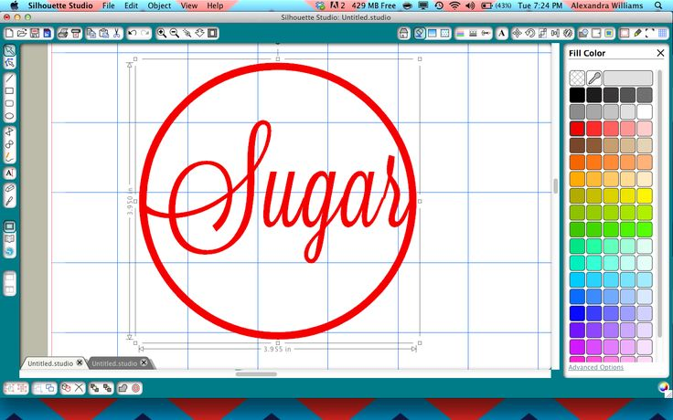 How to weld words in a frame in Silhouette Studio!