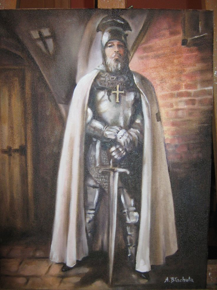 Rycerz krzyżacki Agnieszka Błachuta