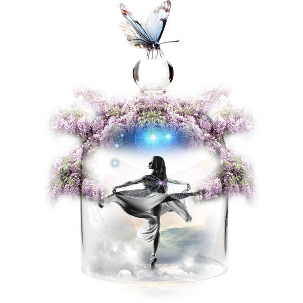 Faery Jar by jasmoonbutterfly on Polyvore featuring art