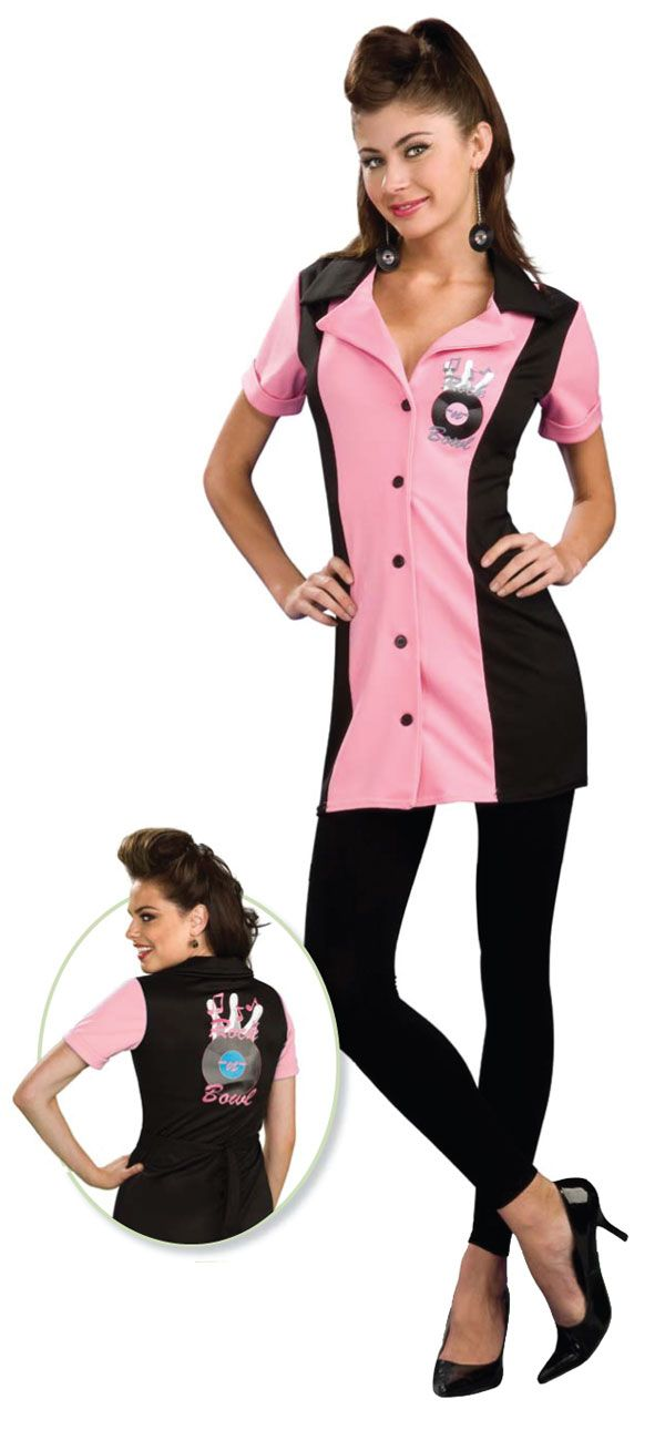 trixie bowling adult costume  50's costumes  fancy dress