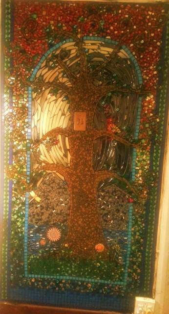My mosaic wall