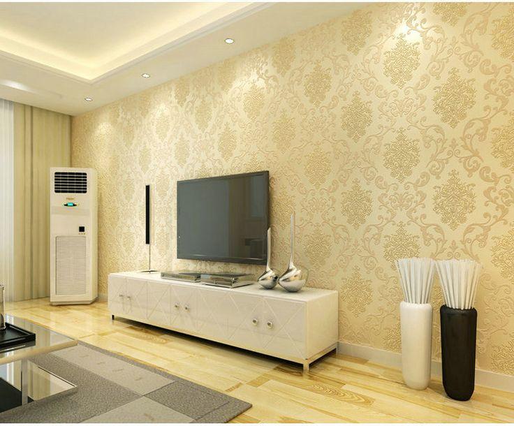 Koyle tipo Jane Europa Damasco 3d não tecido papel de parede para quarto sittingroom parede do fundo Papel Livro de Parede tapete em Papéis de parede de Melhorias na casa no AliExpress.com | Alibaba Group