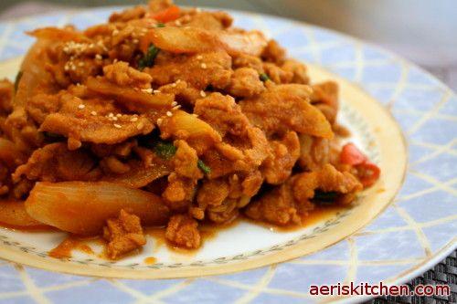 Aeri S Kitchen Spicy Pork