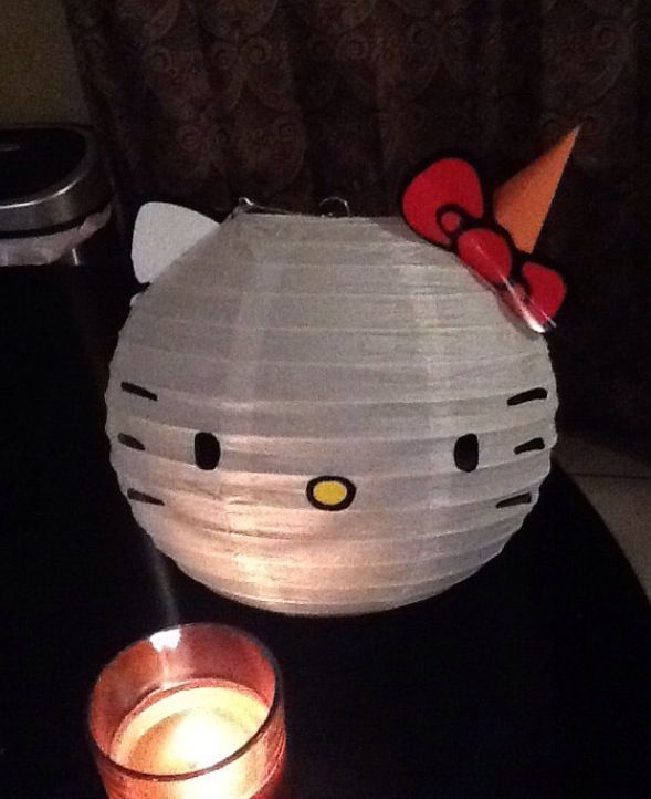Cute Hello Kitty Diy Party Decoration Lilys Party Pinterest