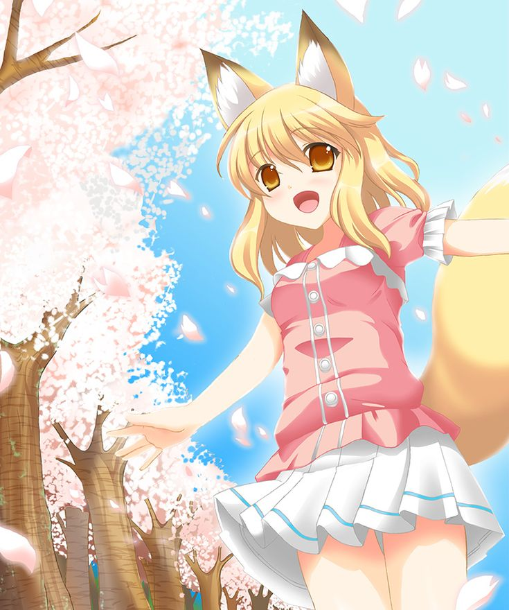 Cute fox girl anime aaaaaaawwwwwwwwwww ) she's so cute