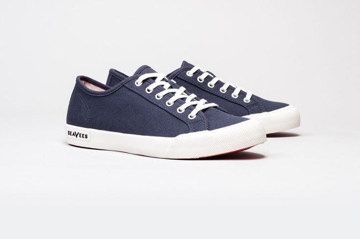 Womens - Monterey Sneaker Standard - Navy - I could use a pair of these.