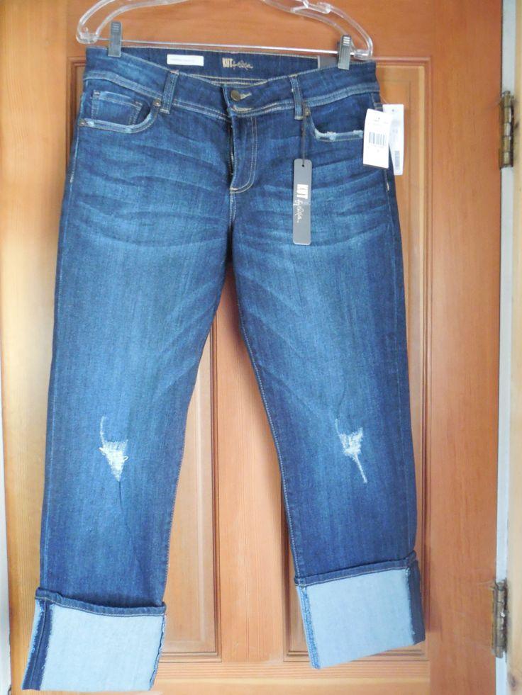 Kut From The Kloth Haiden Distressed Straight Leg Jean