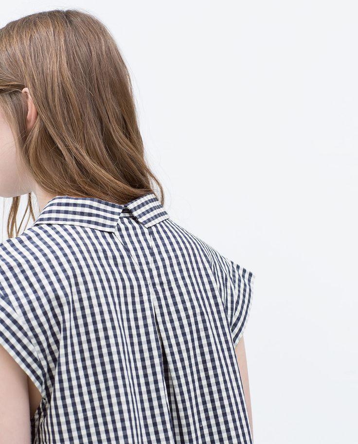 Image 5 of GINGHAM SHIRT from Zara