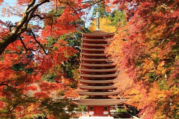 まさに 日本の美 奈良県 談山神社 の紅葉で古の歴史を感じよう Retrip 奈良 神社 美しい風景