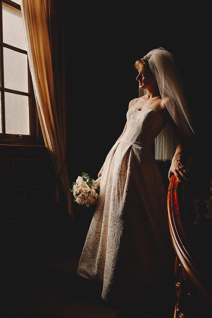 The autumn light through the windows of the Newcastle Club #bride #autumn #wedding #Newcastle #newcastleclub