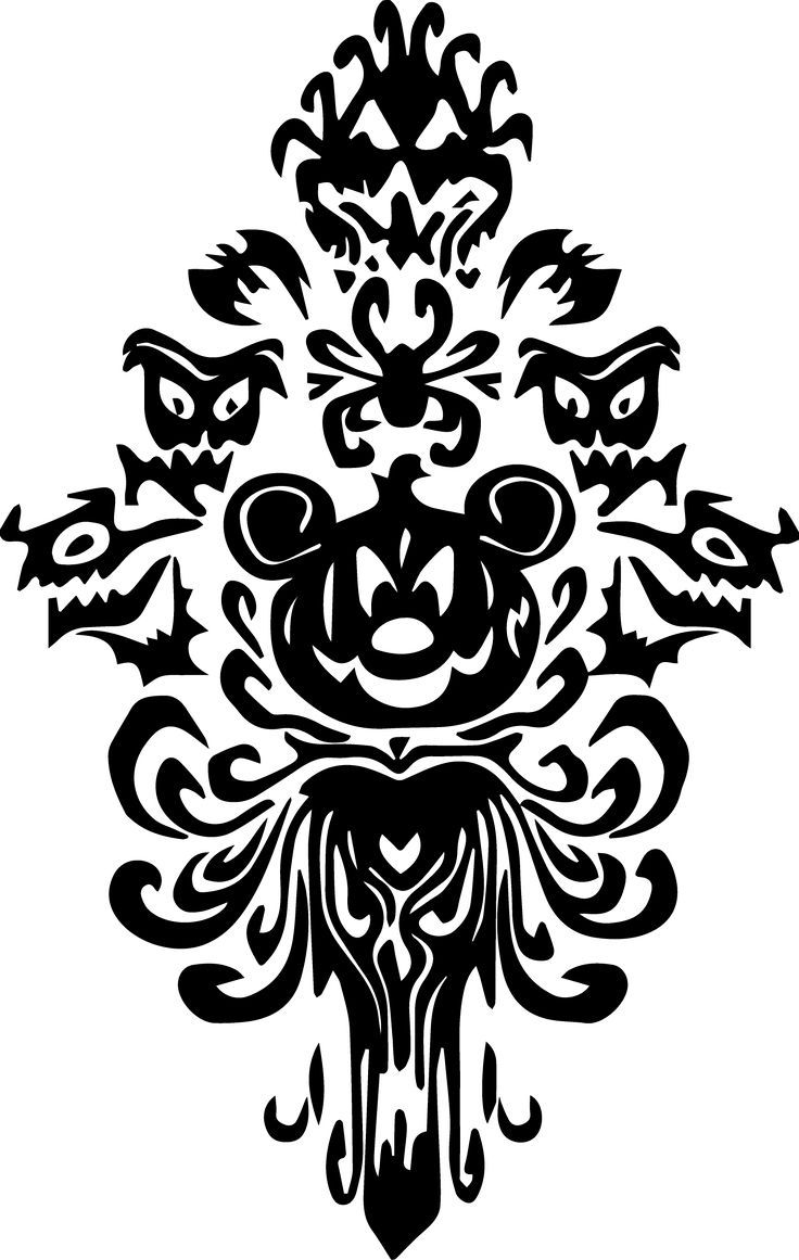 Haunted Mansion design visit to download