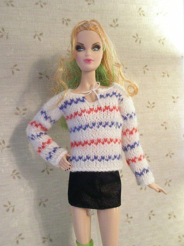 Pippitröja till barbie