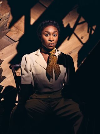 "Dreamgirls John Doyle's fresh and vital revival of ""The Color Purple.""  - Cynthia Erivo elevates the musical to a level that's unusual on and off Broadway."