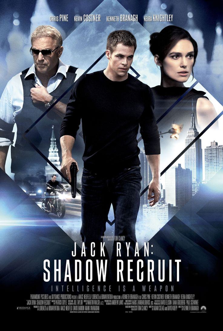 Action/Mystery/Thriller Jack Ryan, as a young covert CIA analyst, uncovers a Russian plot to crash the U.S. economy with a terrorist attack.