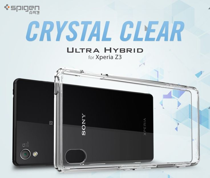 New Arrival --100% Original Spigen Ultra Hybrid Case for Sony Xperia Z3