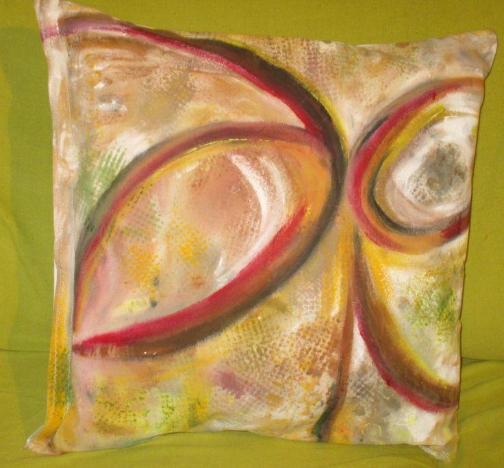 Pintura em tecido -  Serie ZEN