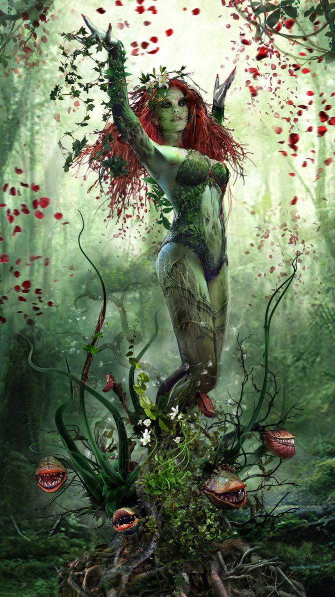 Poison Ivy Redux by uncannyknack.deviantart.com on @DeviantArt