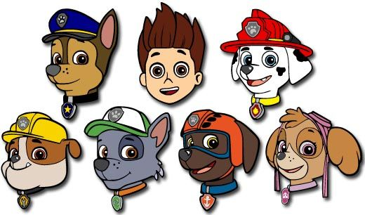122 Best Paw Patrol Pups Images On Pinterest Paw