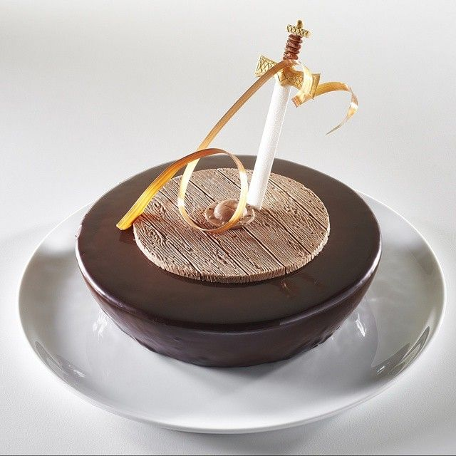 Sweden's chocolate dessert for the 2015 Pastry World Cup. #Sweden #chocolate #pastryworldcup #dessert #chefkevinashton #lyon #france