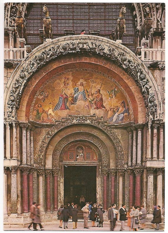 Portal of the St. Mark Basilica, Venice