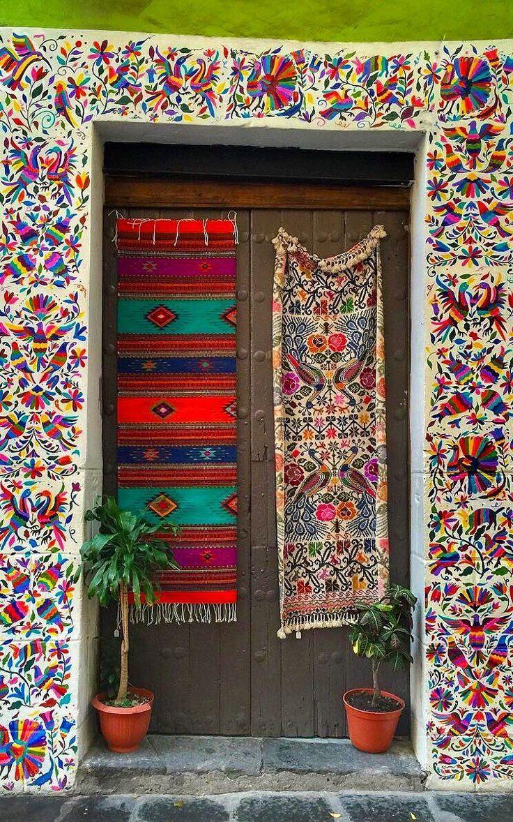 Puebla, México// Pinterest: Valeria Rodríguez | Puertas únicas, Puertas  geniales, Disenos de unas