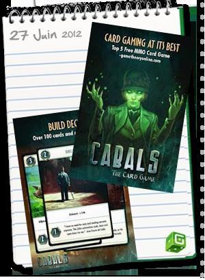 Cabals, le jeu de cartes numérique online débarque sur Android et iOS. C'est l'occasion de vous convertir : www.boardgame.fr#cabals