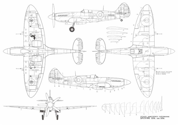 spitfire blueprint design