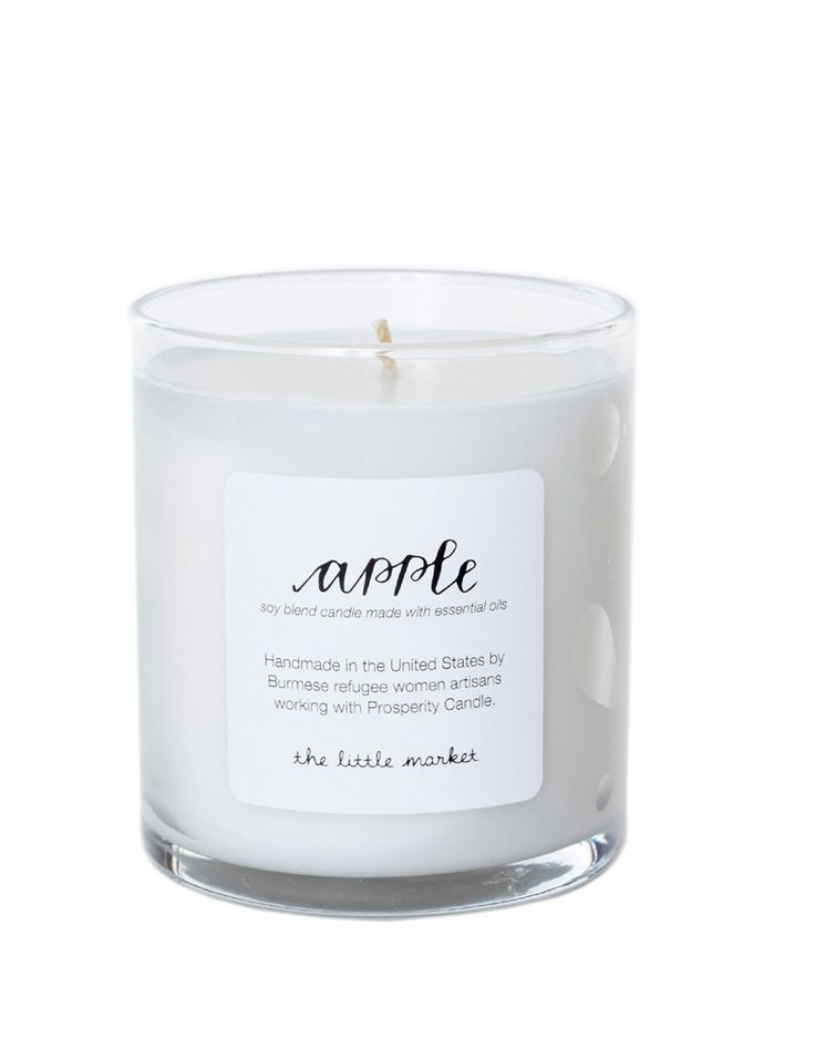 Soy Blend Candle - Apple