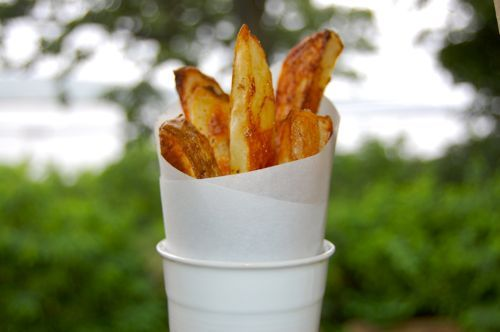 BLOG.ENTERTAININGBYTHEBAY.COM: From By The Bay - Baked Old Bay Fries!