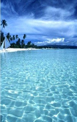 Boracay, Philippines....who knew the Philippines looked like this!!