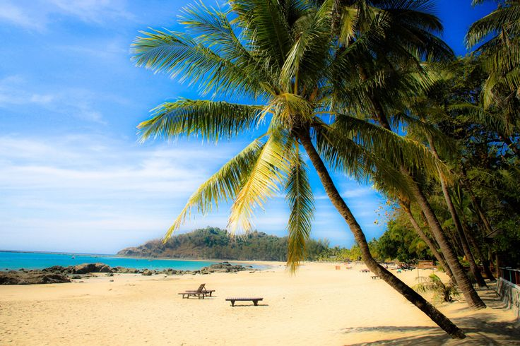Ngapali Beach - named the BEST BEACH in all of Asia. Looks AMAZING.