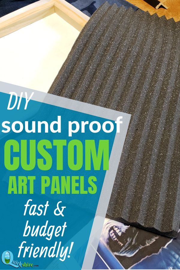 Sound Dampening Panels Diy Custom Canvas Art Quirkshire Soundproof Room Diy Sound Proof Curtains Acoustic Panels Diy