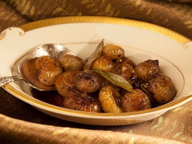 How to Make Caramelized Balsamic Cipollini Onions