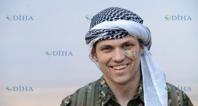 American citizen Jordan Matson joins in YPG to fight ISIS