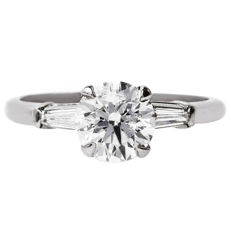 Vintage Moissanite Engagement Rings