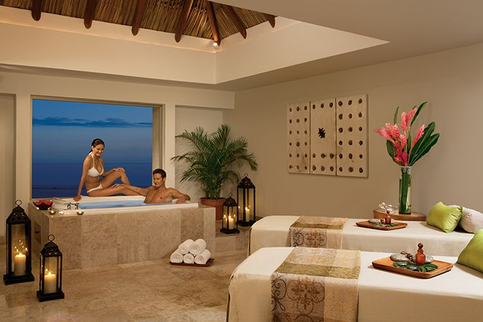 Relax and enjoy getting pampered in our VIP spa cabin at the Sunscape Spa by Pevonia