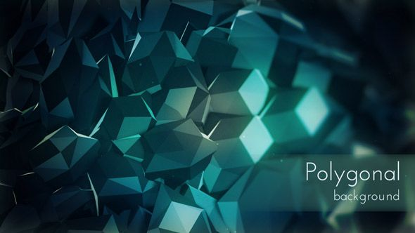 Polygonal Surface Background, Daily Motion Backdrop Series by @cinema4design on @videohive