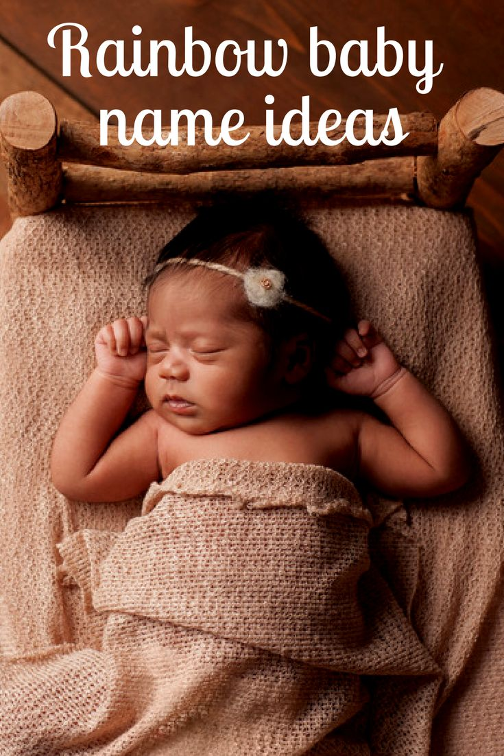 19 beautiful baby names for your rainbow baby | BabyCenter Blog