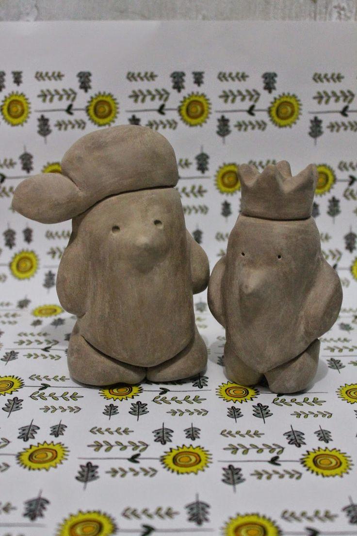 Ede Land: Kriya Keramik -Urban Toys- Woles dan Kingkung  ceramic-urban toys- experiment- home work