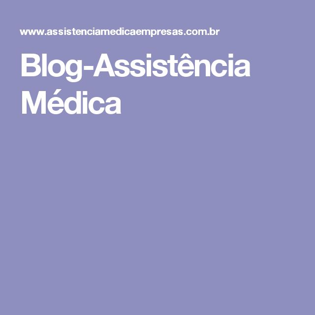Blog-Assistência Médica