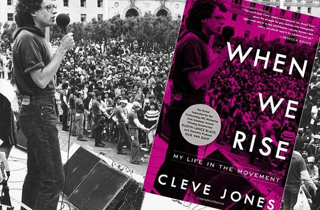 "Most non-activists only know of Cleve Jones for his work with the AIDS Quilt. From his start as Harvey Milk's ""street lieutenant,"" Jones has helped to create the LGBT and HIV communities. His memoir, ""When We Rise,"" t..."
