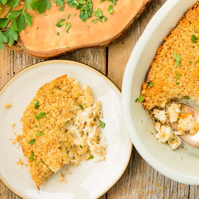 Crab Casserole for Two | Magnolia Days