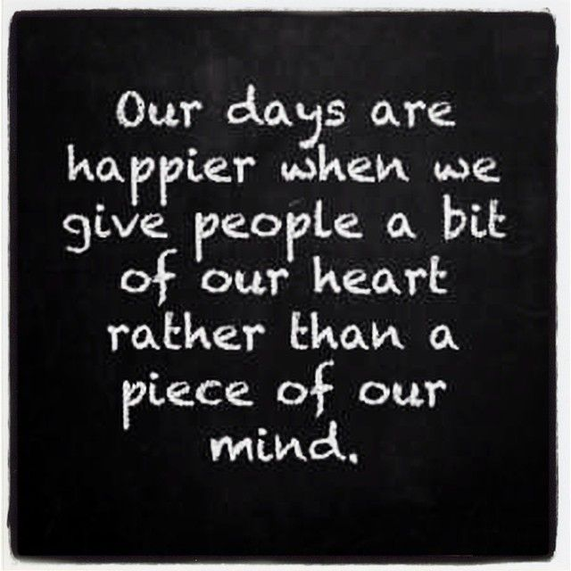 Dash of Sass : Maybe today》Piece  of our Hearts not our Mind; Quotes
