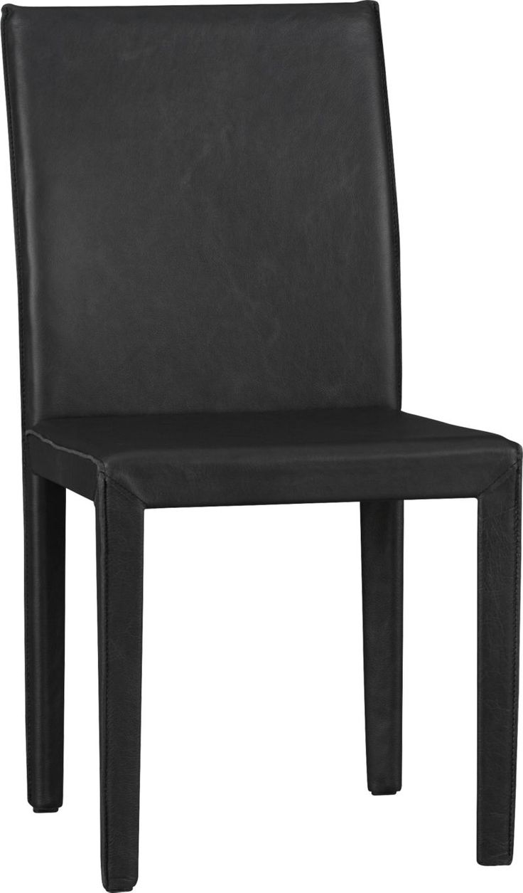 Folio Viola Top Grain Leather Dining Chair   Crate and Barrel ...